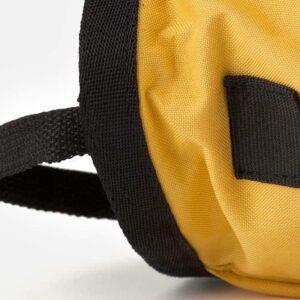 Chalkbag gelb Bürstenhalterung