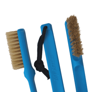 Mantle Brush blau