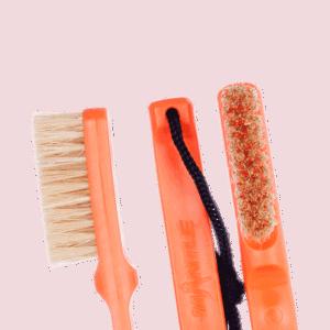 Mantle Brush orange