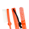 Mantle Brush Nylon orange