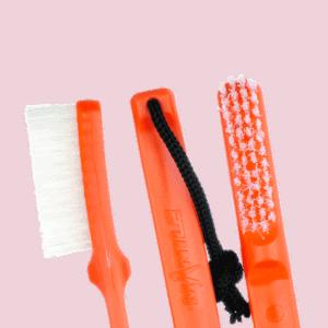 Mantle Brush Nylon orange