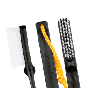 Mantle Brush Nylon schwarz
