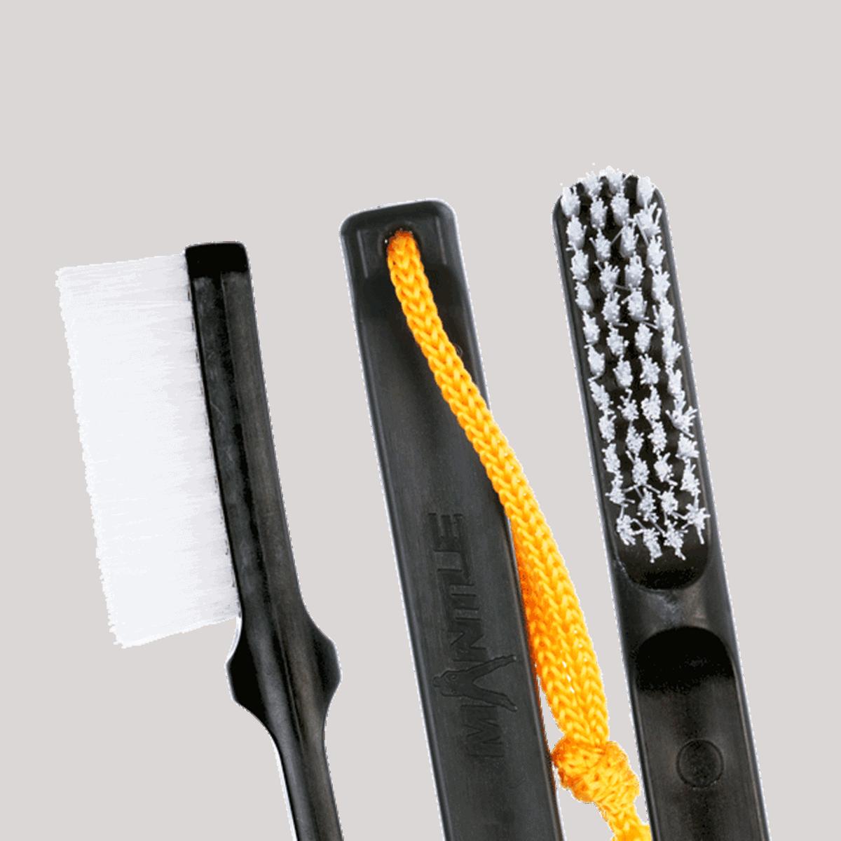 Mantle Brush Nylon schwarz